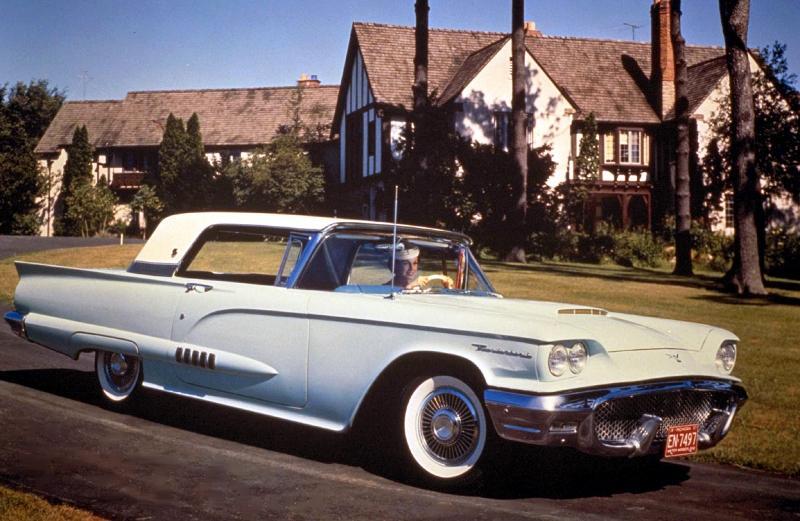 19552005 Ford Thunderbirds