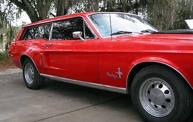 1968 Mustang Wagon