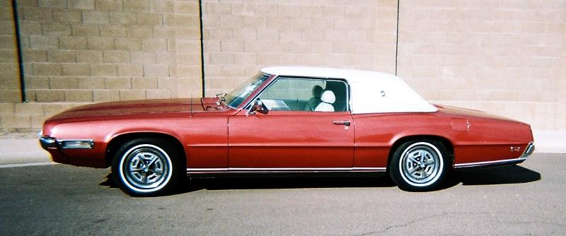 1955 2005 Ford Thunderbirds