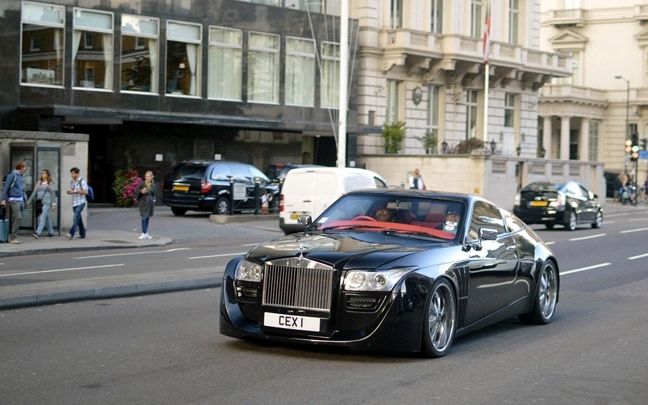 dc design rolls royce in london designer dc Ju0027ai donc négocié patiemment avec le garagiste détenteur de cette Rolls- Royce Coupé u201cDC Designu201d CEX1, pour pouvoir parcourir le plus grand nombre  de miles ...
