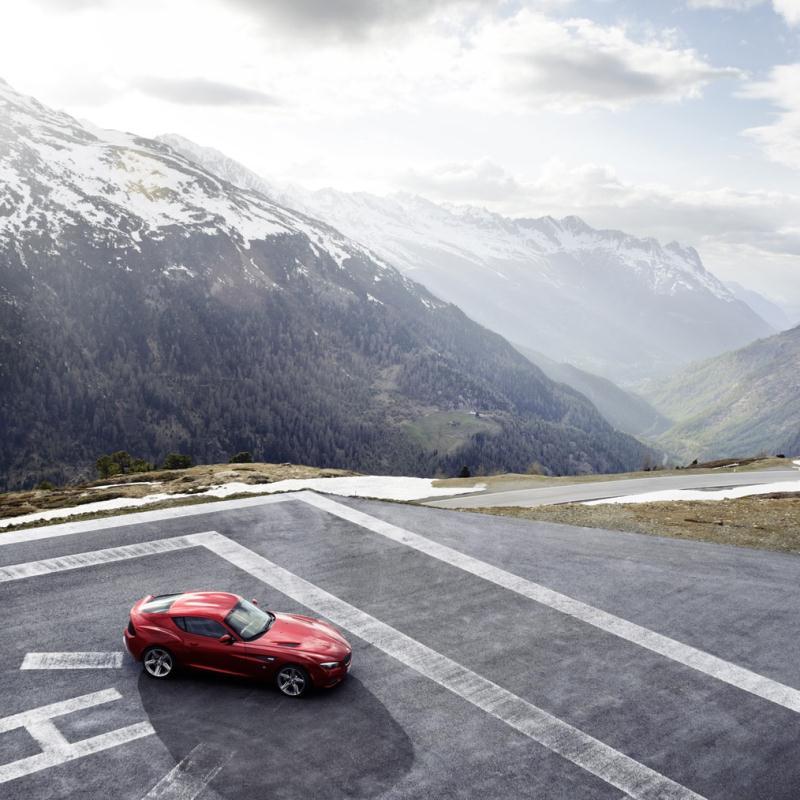 Bmw Zagato Roadster: 2012 BMW Zagato Coupe, Tellement Belle Qu'elle En Devient