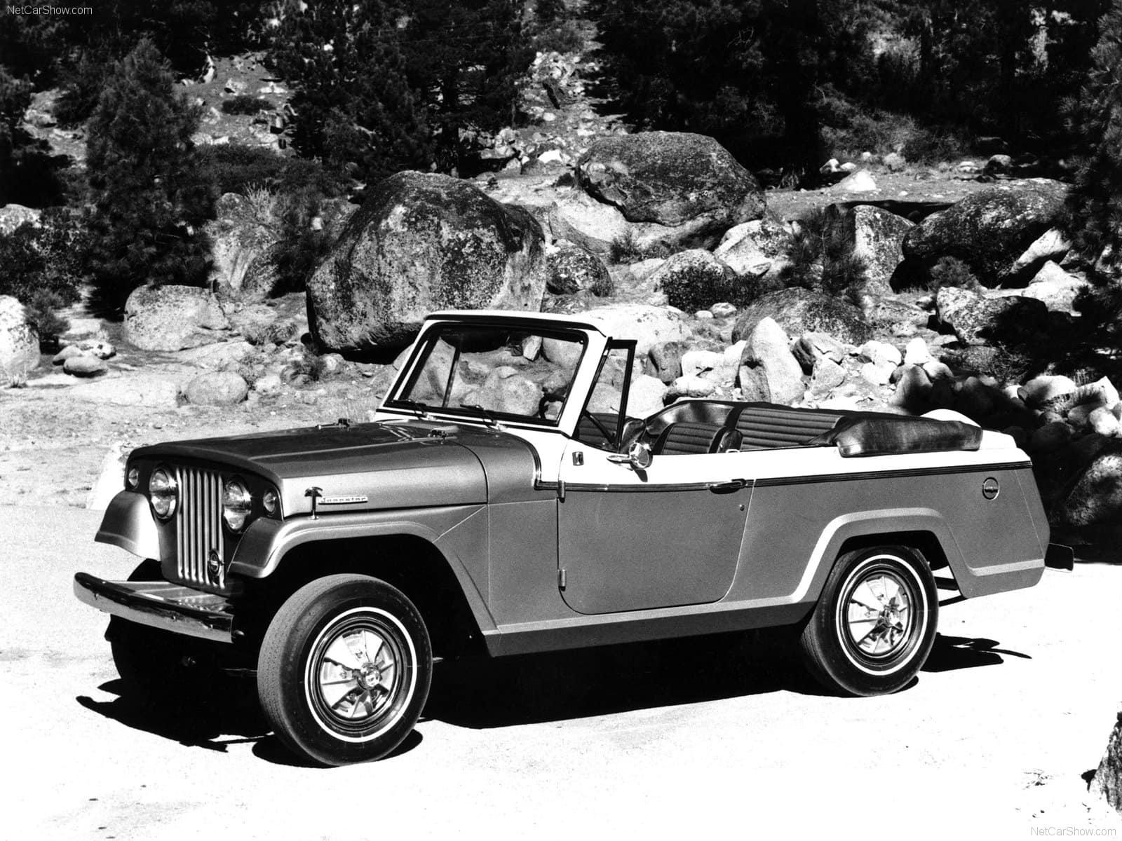 Jeep Willys Jeepster Station Wagon Et Pick Up Des Vritables 1950 Trs Prise Par Les Collectionneurs Amricains La Jouit Dune Cote Flatteuse Outre Atlantique Arriv Trop Tt Ce Modle Prcurseur Possdait Sur