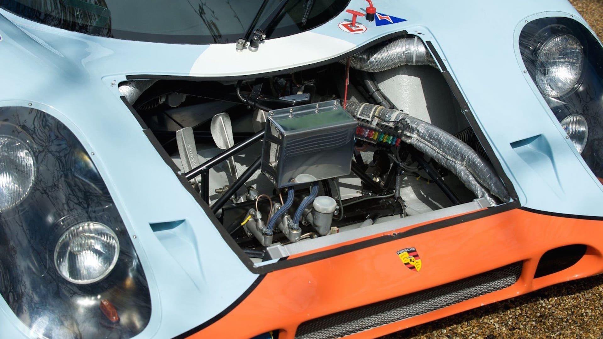 Duel Porsche 917k Et Ferrari 512s Comme En 1970 224 Spa