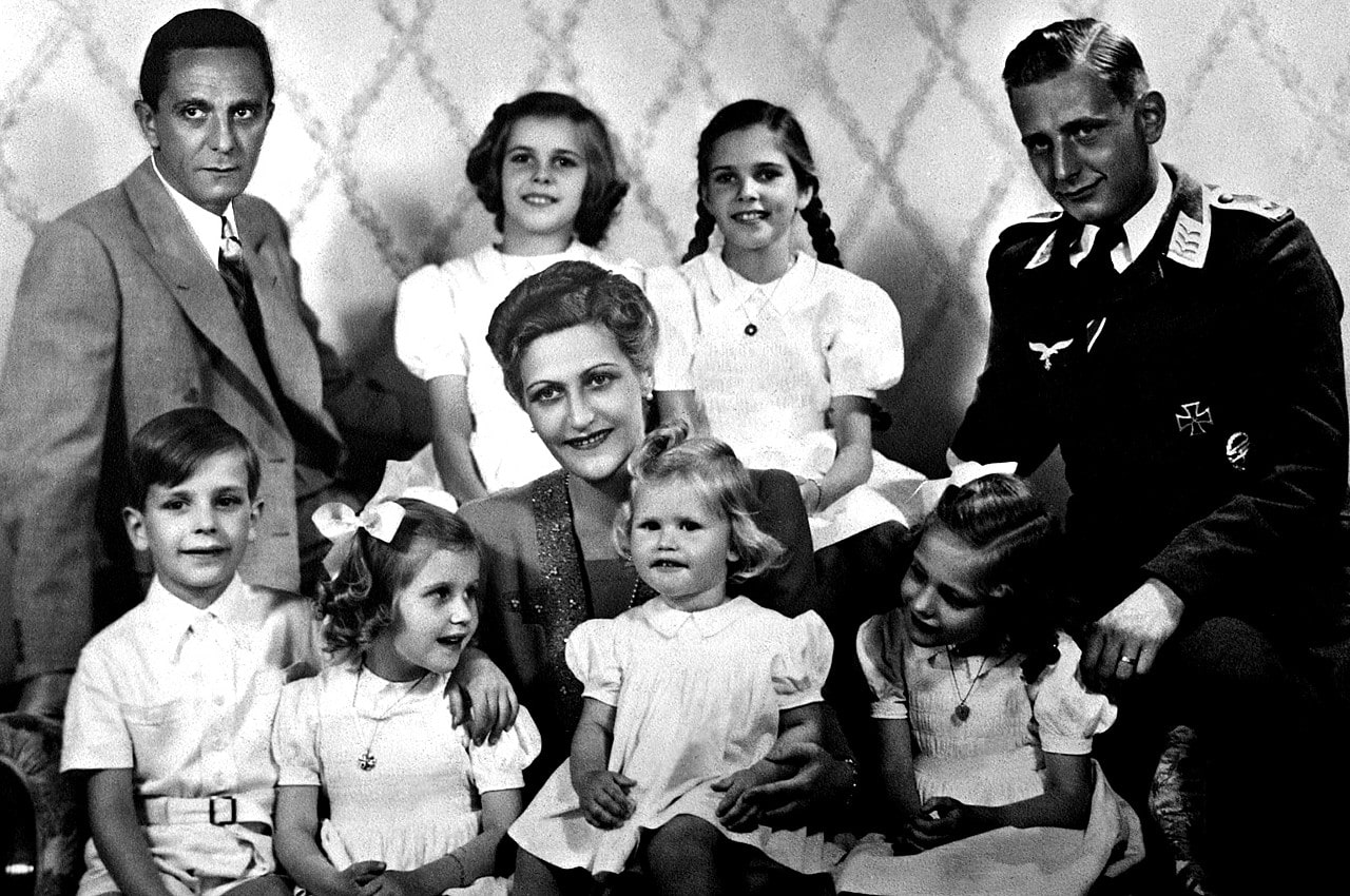 09-goebbels-et-sa-femme-six-enfants-et-harald-quandt