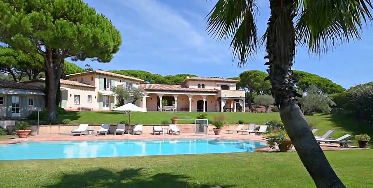 Villa Octopussy Saint Tropez Prix